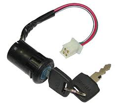amazon com poweka ignition key switch 50cc 70cc 90cc 110cc 150cc