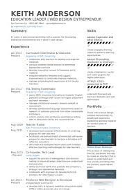 Interactive Resume Examples by Instructor Resume Samples Visualcv Resume Samples Database