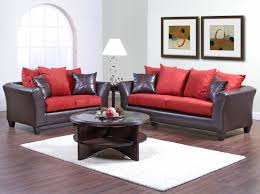 Modern Loveseats Red And Black Living Room Set White Wooden Modern Tv Credenza Twin