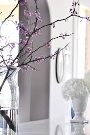 Branches In A Vase Fresh Look For Spring In The Kitchen Decor Gold Designs