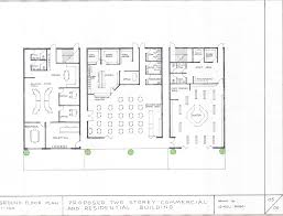 Floor Plan Two Storey by Two Storey Commercial And Residential Building My Assessment 3