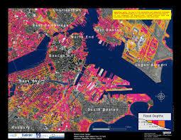 Boston Maps by Flood Maps Boston Harbor Now Boston Harbor Now