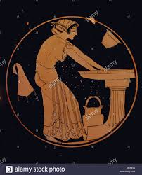 Ancient Greek Vase Painting Fine Arts Ancient World Greece Vase Painting Interior Of A