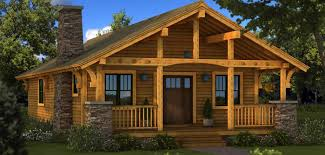 Small Post And Beam Homes Log Homes U0026 Log Cabin Kits Southland Log Homes
