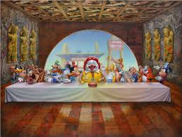 66 best la Ultima cena the last supper images on pinterest super supper ron english la Ultima cena the last supper