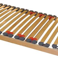 Slatted Bed Base Queen Single Row Slatted Bed Base With Beech Sprung Bed Slats
