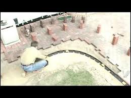 How To Cover A Concrete Patio With Pavers Installing Pavers How To Cover A Concrete Patio