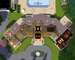 aaron spelling mansion floor plan mod the sims the manor estate