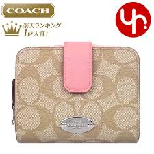 light pink coach wallet import collection rakuten global market and writing coach coach