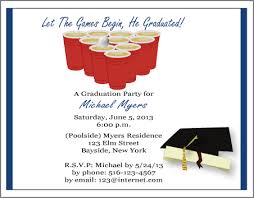 college party invitation college graduation personalized party