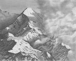 pencil sketches of mountains pencil drawing mountains drawing