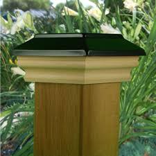 halifax black powder coated post cap by nantucket post cap the