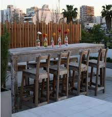 Outdoor Patio High Chairs by Top 25 Best Outdoor Bar Table Ideas On Pinterest Outdoor Bars