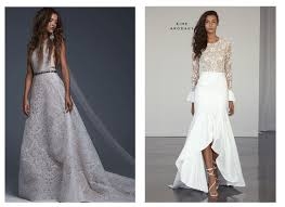 gorgeous wedding dresses 15 most gorgeous wedding dresses from ny bridal fashion week fall