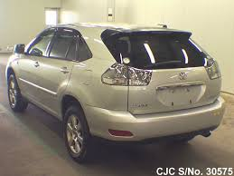 toyota lexus harrier 2004 2004 toyota harrier silver for sale stock no 30575 japanese