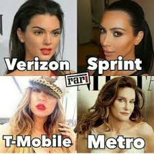 T Mobile Meme - verizon sprint t mobile metro