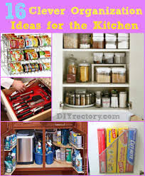diyrectory com kitchen 16 clever organization ideas for the kitchen