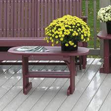 Luxcraft Poly Octagon Picnic Table Swingsets Luxcraft Poly by Amish Luxcraft Poly Furniture Collection