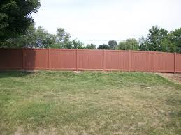 applying wood grain vinyl fence design and ideas of house