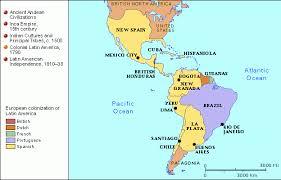 colonial america map grolier atlas