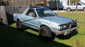 subaru brat 2013 1985 subaru brat gl standard cab pickup 2 door 1 8l