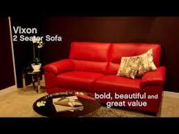 sofas by you from harveys vixon leather sofa harveys youtube