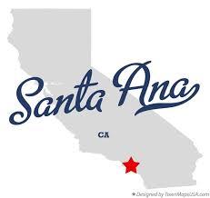 santa california map map of santa ca california