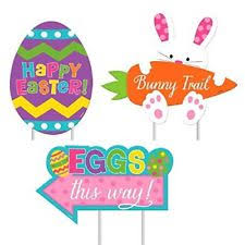 Easter Outdoor Decorations by Outdoor Easter Decorations Ebay
