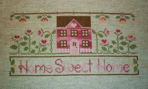 the patchwork robin home sweet home