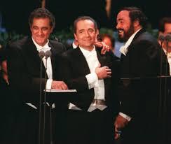 a look back at the three tenors concert at dodger stadium la times