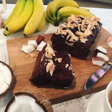 candice u0027s banana chocolate and coconut loaf bananas coconut