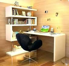 Corner Computer Desk With Shelves Desk With Bookshelves Office Desk With Bookcase And Shelving