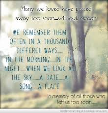 in memory of a loved one quotes homean quotes