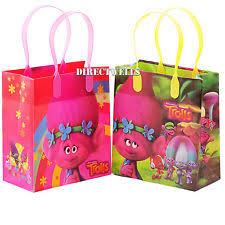 dreamworks trolls birthday favors goody loot gift bags