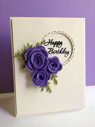 handmade birthday cards with stunning decoration trendy mods com