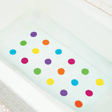 dots non slip bathtub mat
