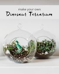 diy mini dinosaur terrarium satin u0026 pine