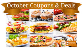 food coupons october restaurant coupons and deals 2016 downriver restaurants