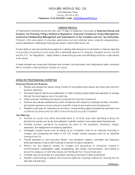 Sample Resume For Internship In Accounting by Example Of Accounting Resume Resume For Your Job Application