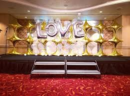 wedding backdrop singapore concert backdrop that balloons