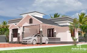 sloped roof single floor home u2013 kerala home design