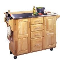 100 kitchen island stainless top butcher block kitchen