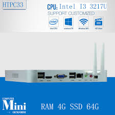 ordinateur de bureau jeux i3 3217u 1 8 ghz ddr3 4g ram 64g ssd ordinateur de bureau jeu pc