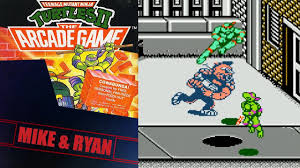 teenage mutant ninja turtles ii arcade game nes mike u0026 ryan