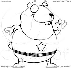 hamster coloring page trendy cute hamster in a sock coloring with