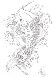 koi fish tattoo project by arhell on deviantart