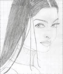 aishwarya rai sketch painting photo eyes aishwarya rai photos