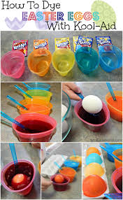 Coloring Eggs How To Dye Easter Eggs With Kool Aid Totally The Bomb Com