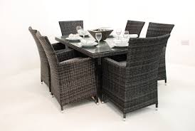Rattan Outdoor Patio Furniture by Outdoor Wicker Table Outdoor Rattan Table And Chairs Youtube