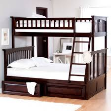 Bunk Bed Plans Full Over Queen Twin Over Full Bunk Bed With - Queen and twin bunk bed